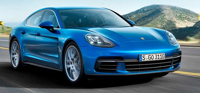Porsche Panamera: Удлиненная версия нового поколения