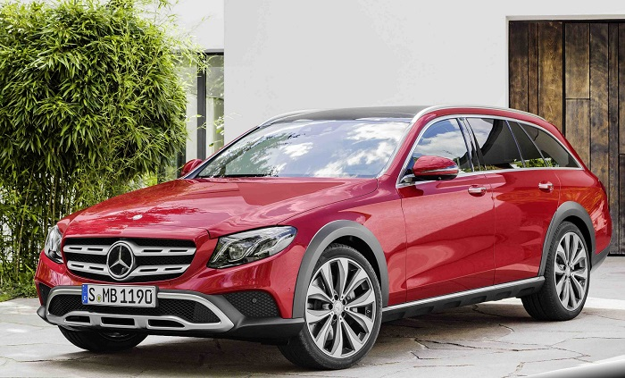 Mercedes-Benz представил E-Class All-Terrain