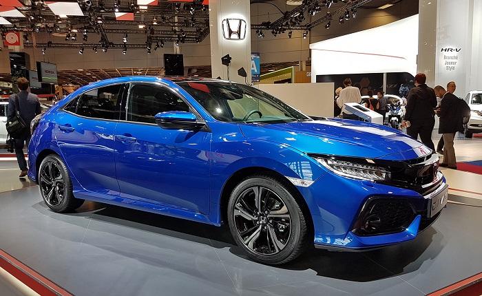 Honda Civic: Хэтчбек дебютировал в Европе