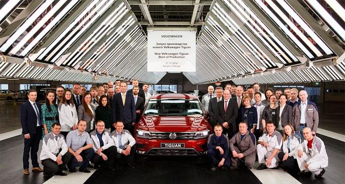 Новый Volkswagen Tiguan: Запущено производство в России