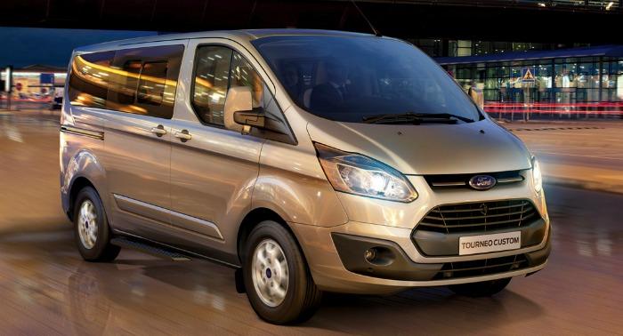 Ford Transit Custom и Tourneo Custom появятся в России