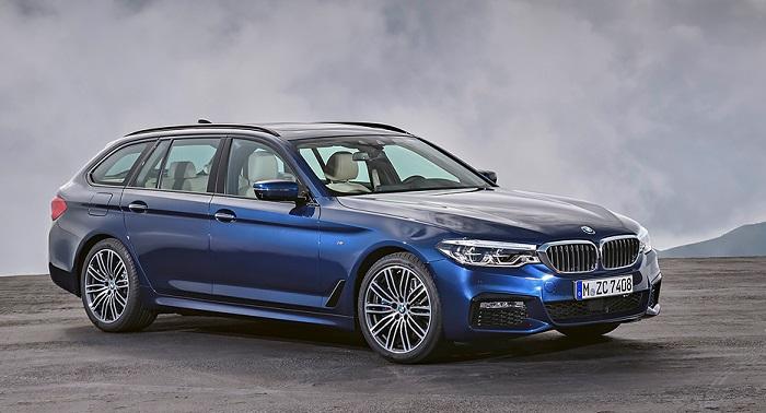 Новая BMW 5-Series в кузове универсал
