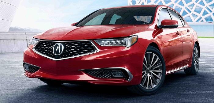 Acura показала обновленный седан TLX в Нью-Йорке