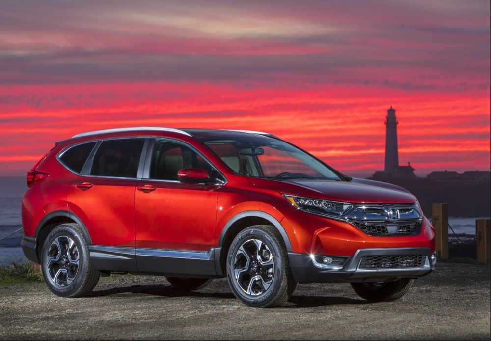Цена Honda CRV в 2018 г
